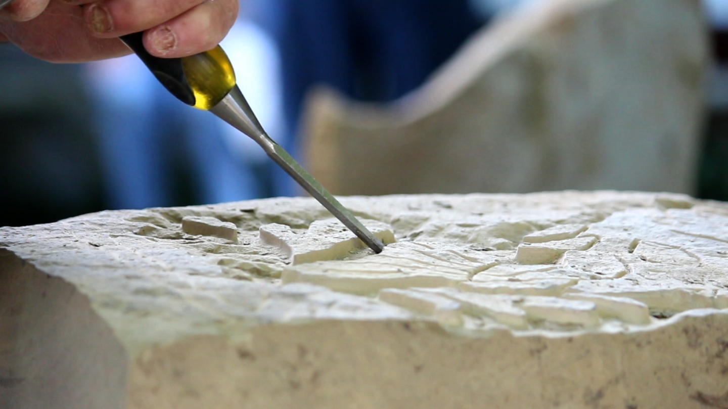 chiseling out a way of life